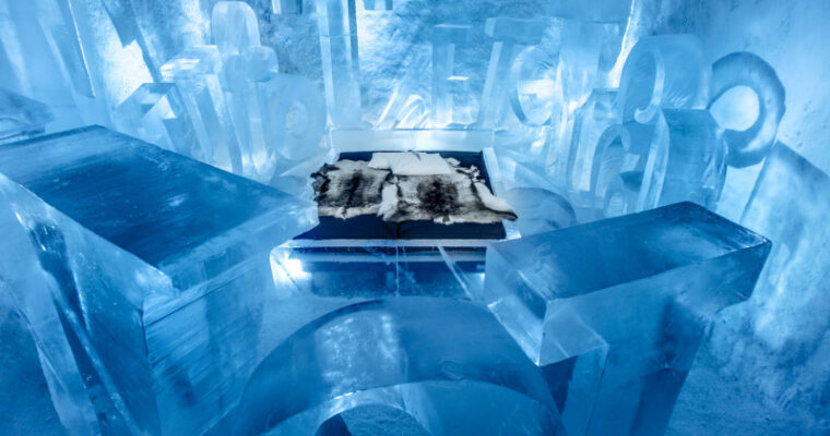 Ice hotel e aurora boreal: viva essa experiência